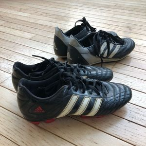 ADIDAS & TRACTION Soccer shoes 2 pairs